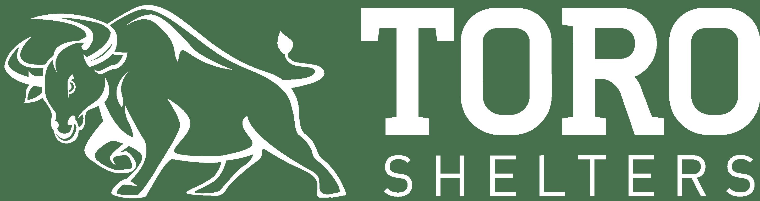 toro shelters white logo