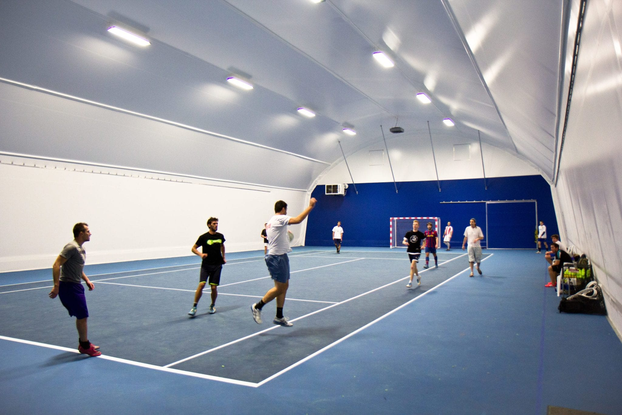 indoor court fabric membrane cover toro shelters