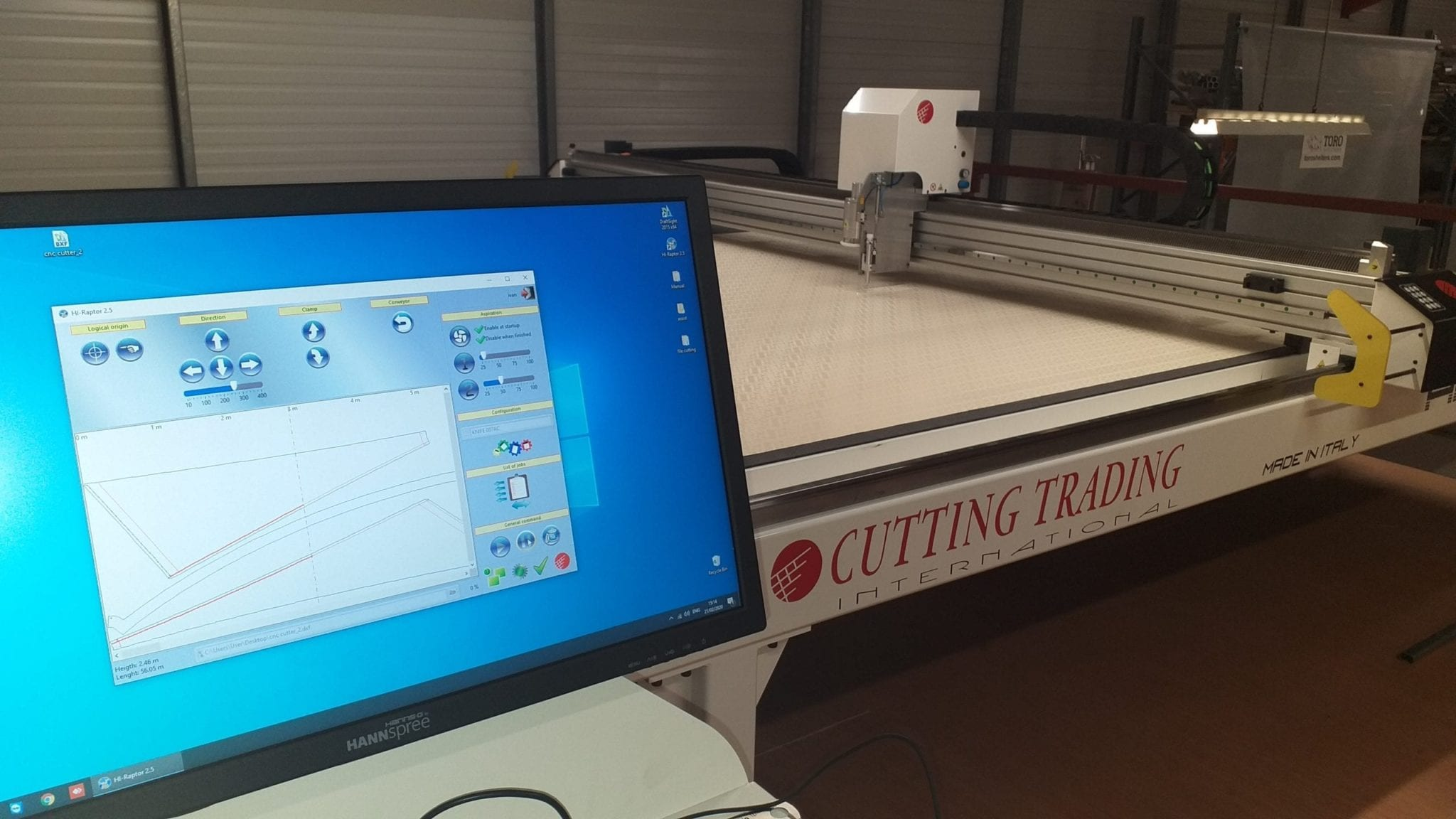 fabric structure laser pattern cutting toro shelters