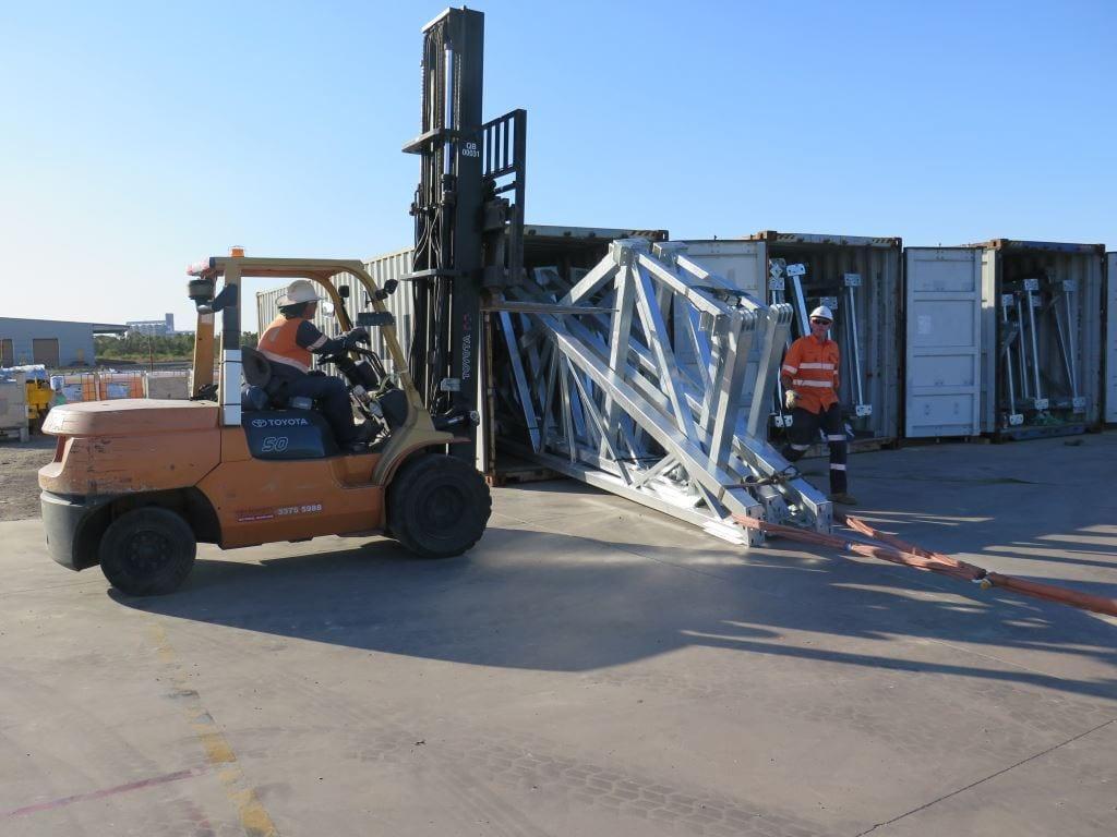 offshore installation toro shelters