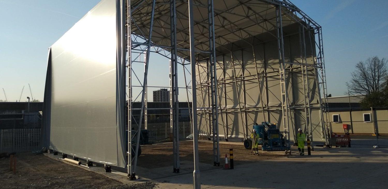retrofit fabric structure toro shelters