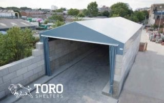 block building toro shelters