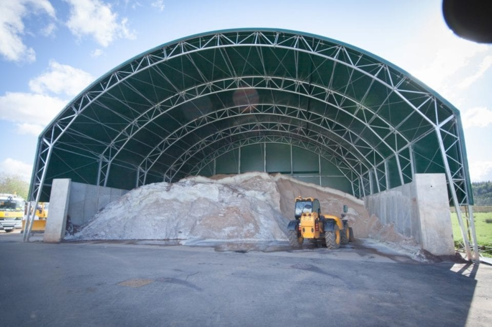 dry bulk fabric building toro shelters