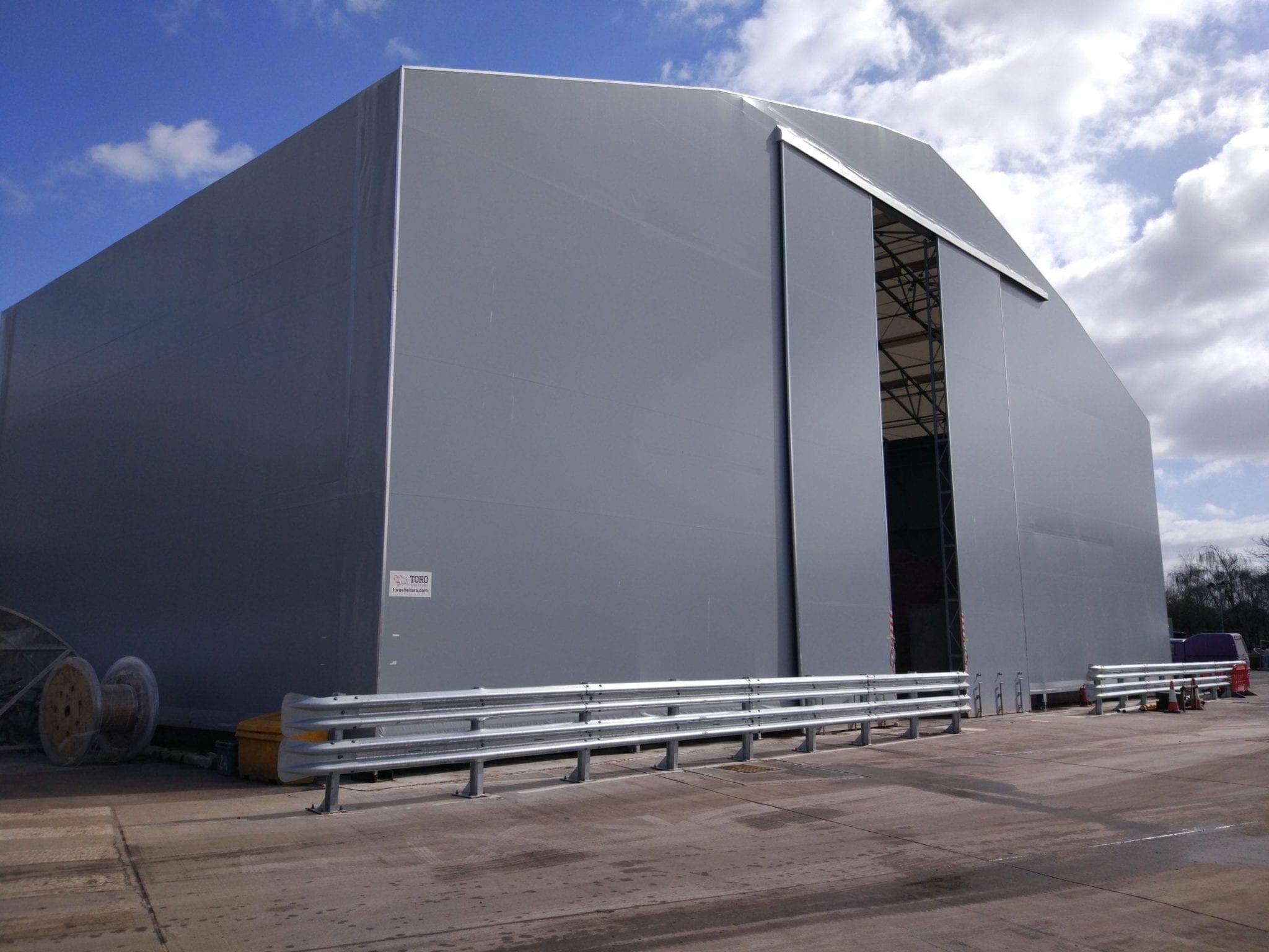 dry bulk store doors toro shelters