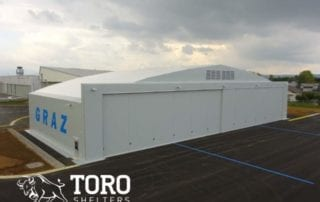 flughafen fabric building toro shelters