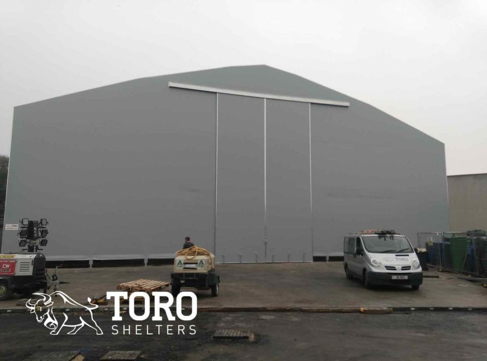 high capacity salt toro shelters
