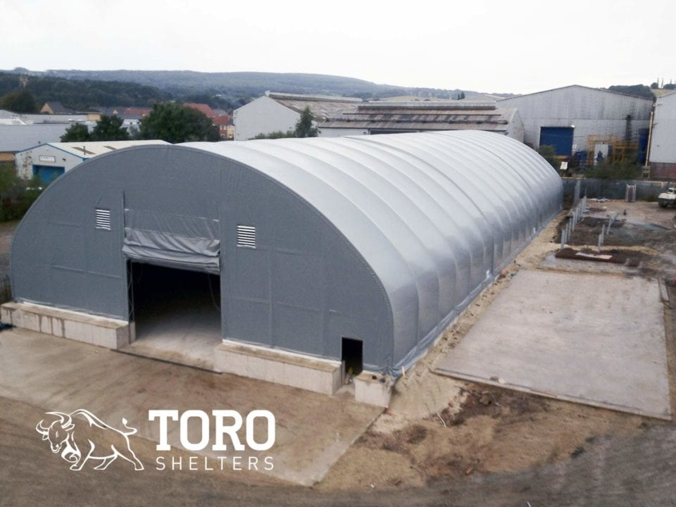high capacity2 salt storage toro shelters