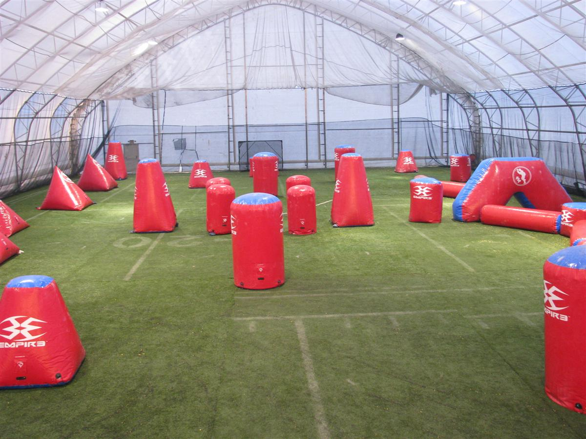 Indoor Rugby & American Football Training Pitch - Tensile Fabric Structure - Toro Shelters
