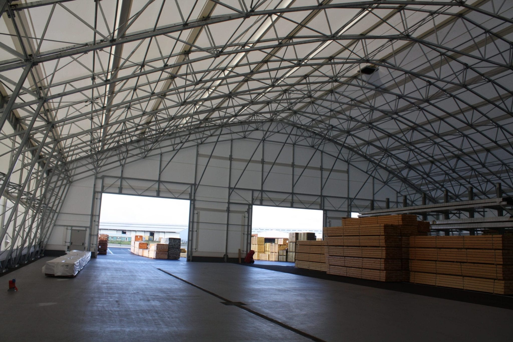 internal fabric cover warehouse toro shelters