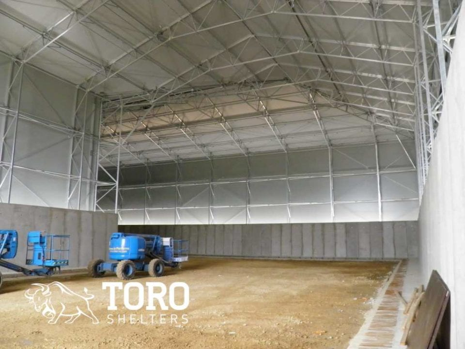 l shaped barn toro shelters