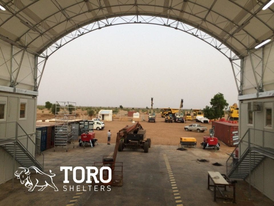 mine vehicle maintenance structure 2 toro shelters