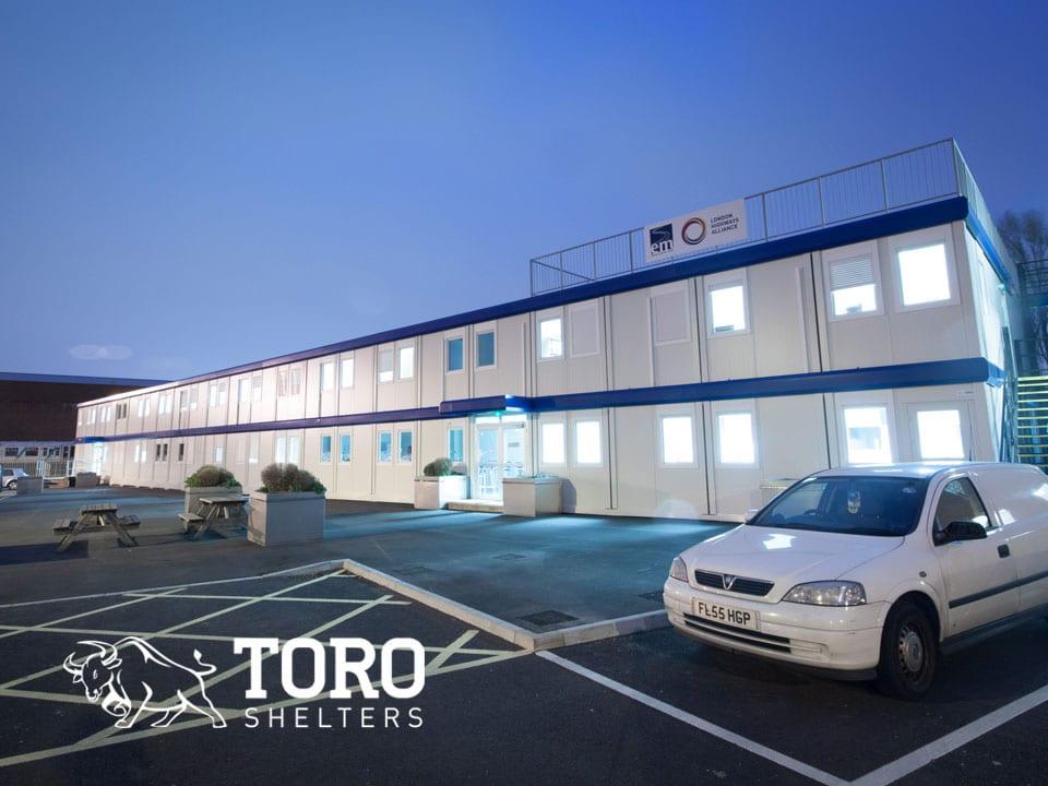 modular building toro shelters