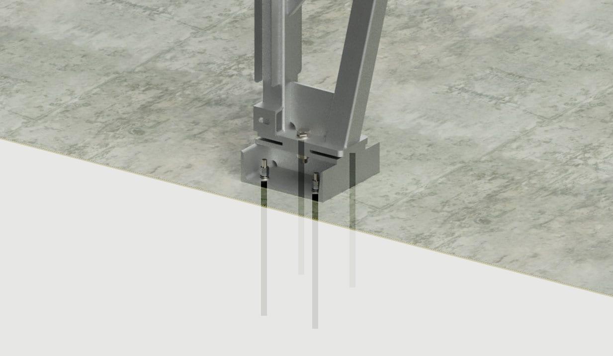 pin foundation toro shelters