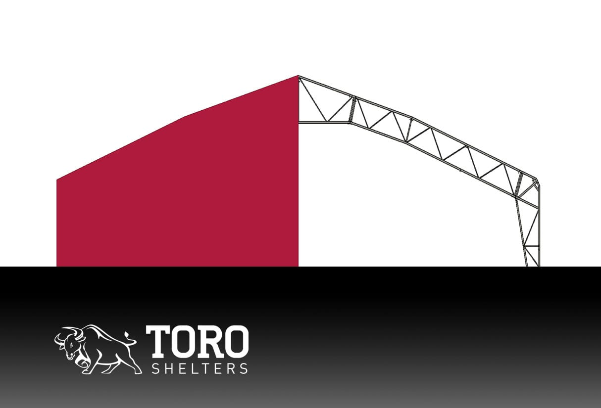 polygonal roof toro shelters