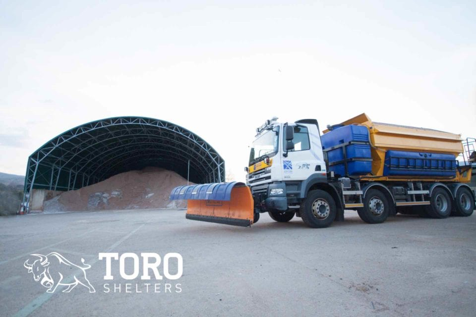 round roof salt storage toro shelters