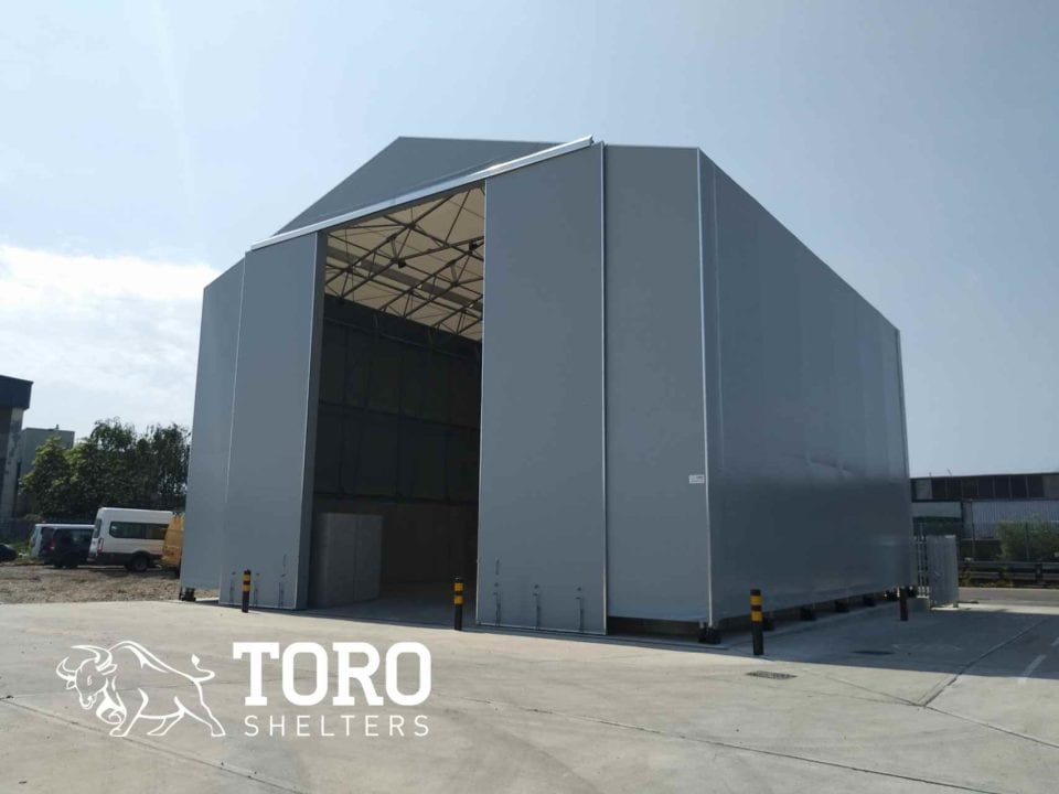 salt barn doors open toro shelters