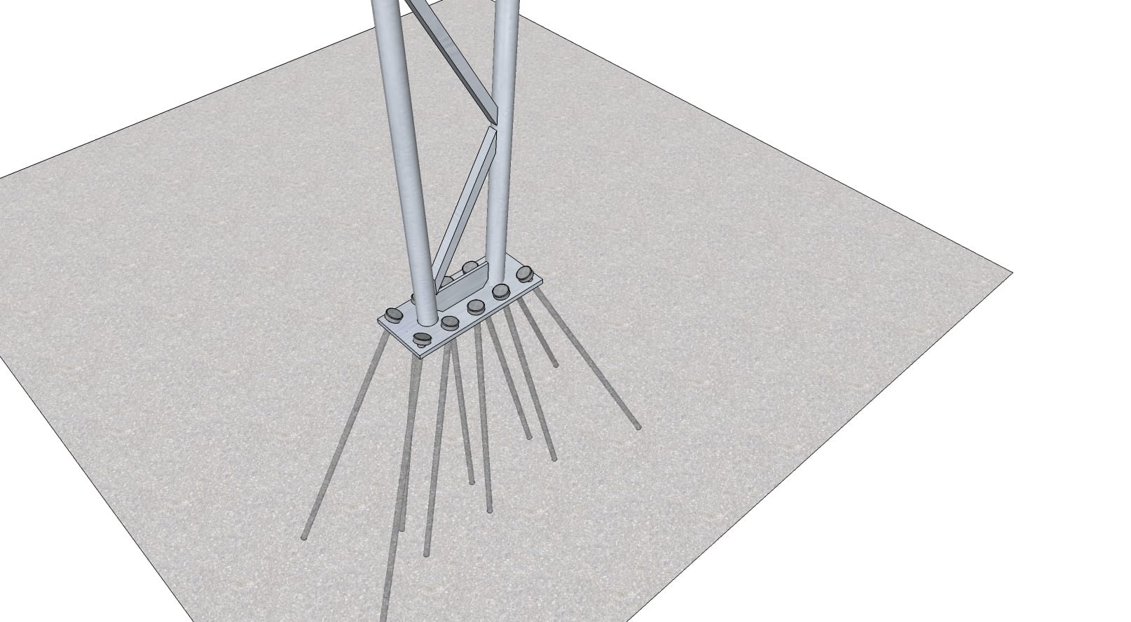 steel anchor pins toro shelters