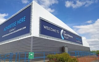 East Midlands Airport - Tensile Fabric Structure
