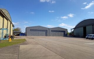 East Midlands Airport - Temporary Airport Buildings